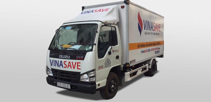Chính sách vận chuyển hàng hoá tại VinaSave