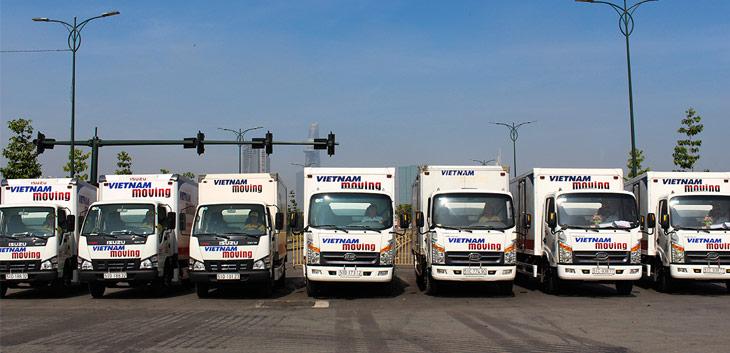 Dịch vụ chuyển nhà trọn gói - hệ thống xe tải chuyển nhà chất lượng