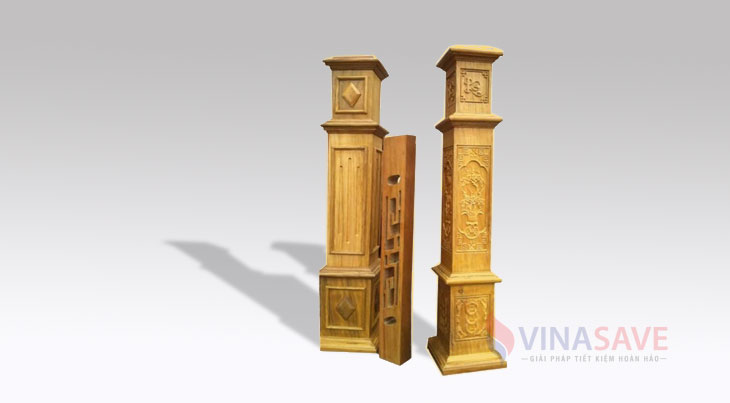 Mua bán thanh lý cột gỗ trang trí giá rẻ