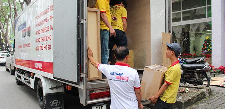 Dịch vụ chuyển nhà trọn gói với đội ngũ chuyên nghiệp