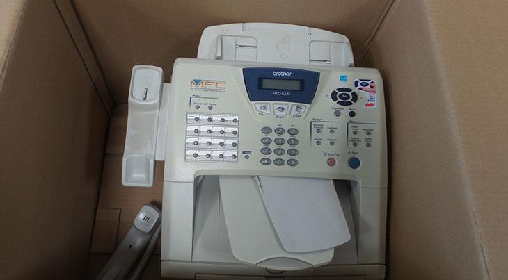 Thanh lý máy fax cũ giá rẻ