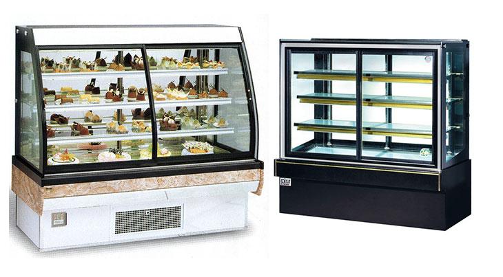Thanh lý tủ trưng bày bánh kem cũ giá rẻ