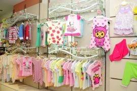 Thanh lý nội thất cửa hàng quần áo trẻ em