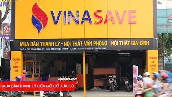 Mua bán thanh lý cửa gỗ cổ xưa cũ giá rẻ tại VinaSave 3