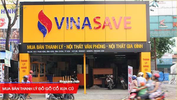 Mua bán thanh lý đồ gỗ cổ xưa cũ giá rẻ tại VinaSave 3