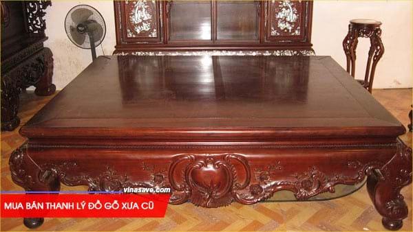 Mua bán thanh lý đồ gỗ xưa cũ giá rẻ chất lượng tại VinaSave 1