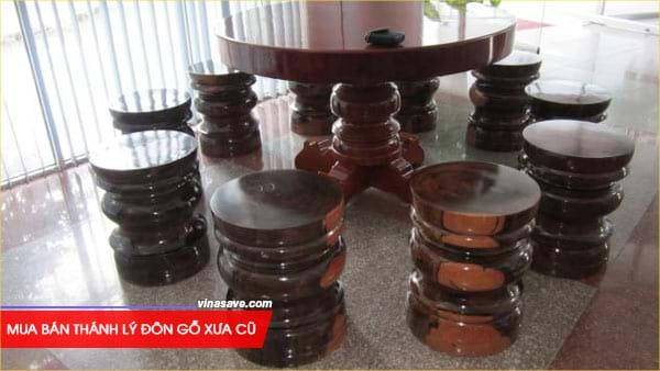 Mua bán thánh lý đôn gỗ xưa cũ giá rẻ tại VinaSave 2