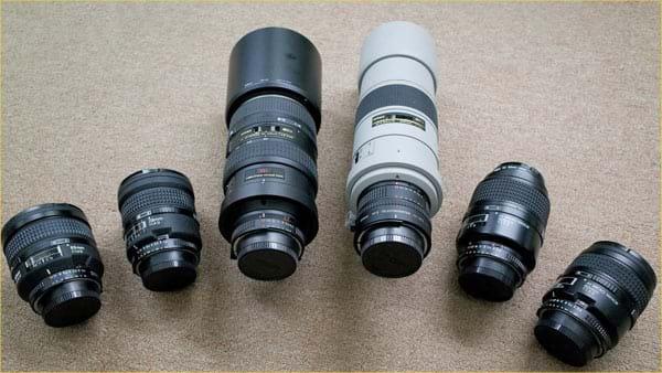 Thanh lý mua bán ống kính cũ, lens cũ giá rẻ tiết kiệm 1