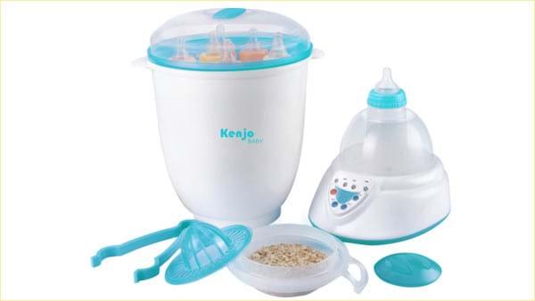 Mua bán thanh lý máy hâm sữa cũ cho bé, Máy hâm sữa nóng trước khi cho bé sử dụng