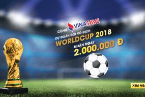 Dự đoán đội vô địch WORLDCUP 2018 - Nhận ngay 2.000.000 đ