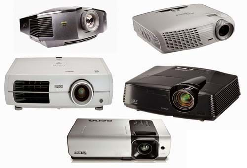 Các loại máy chiếu cũ trên thị trường hiện nay