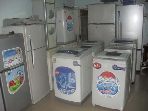 Những chiếc máy giặt cũ chi phí thấp hơn rất nhiều so với máy giặt mới