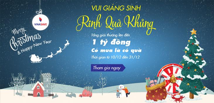 Chương trình: Vui Giáng Sinh - Rinh Quà Khủng