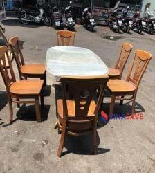 Bộ bàn ghế gỗ cũ