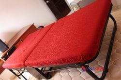 Giường xếp khung chân sắt cũ