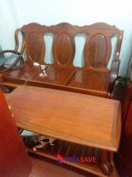 Bộ sofa gỗ cũ
