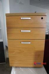 Tủ cóc 3 ngăn màu gỗ cũ
