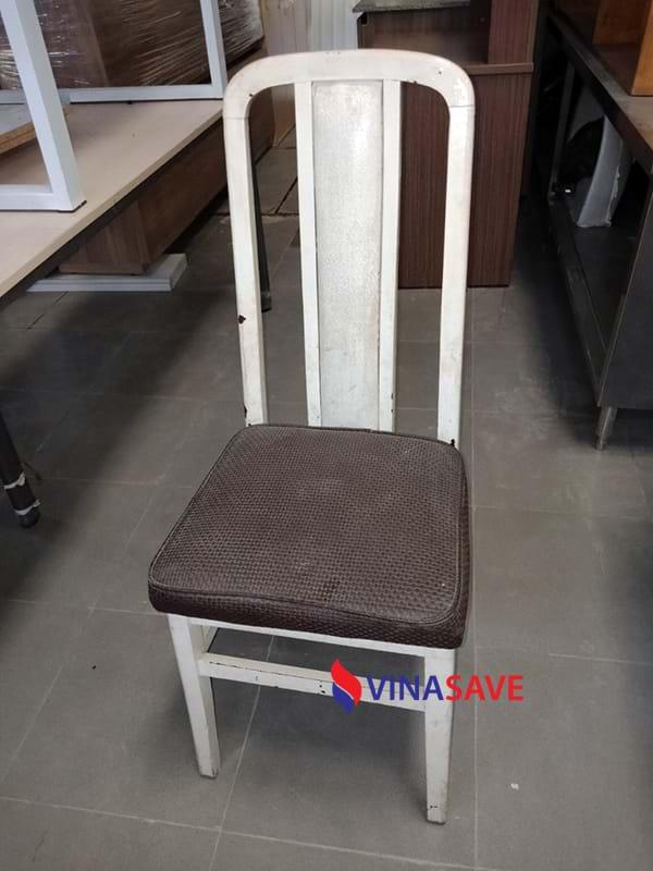 Thanh lý ghế bọc nệm gỗ tự nhiên cũ giá rẻ như mới