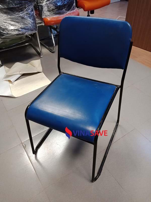 Ghế nệm chân sắt cũ giá rẻ chất lượng như mới dùng cho văn phòng - 794