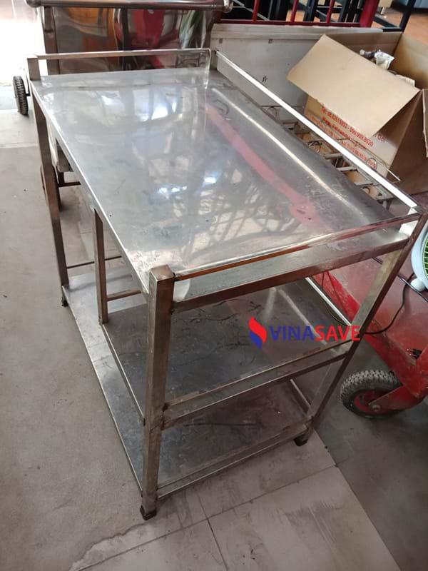 đồ cũ thùy trang thanh lý kệ inox cũ hải phòng - đồ cũ hoàng quỳnh 0913040613