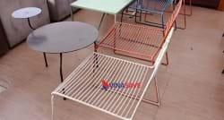 Bộ bàn ghế sắt cũ SP000184