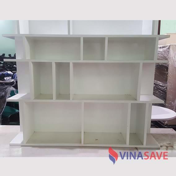 Kệ treo tường màu trắng 1m2 x 40cm x 1m