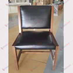Ghế nhà hàng gỗ nệm NHK002