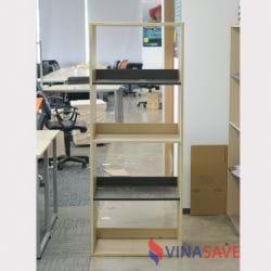 Kệ văn phòng 4 ngăn 1m6 x 60cm
