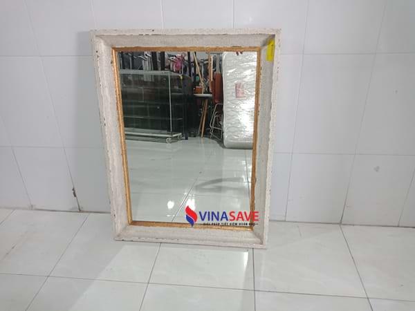 VinaSave thanh lýGương khung gỗ tự nhiên đã qua sử dụng giá rẻ -2058