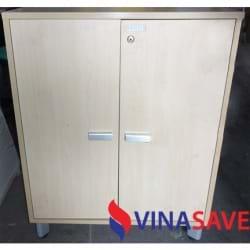 Tủ hồ sơ thấp 2 cánh cũ VN329