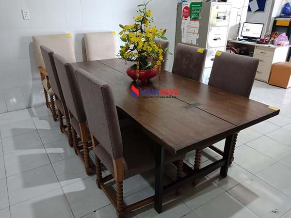 VinaSave thanh lý Bộ bàn ăn đã qua sử dụng chất lượng còn như mới -2089