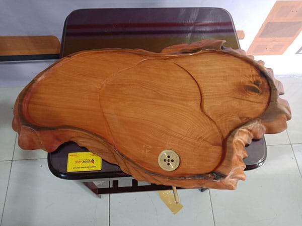 Xả kho giá tốt nhất Khay trà gỗ xưa cũ chất lượng còn như mới, uy tín - 2884