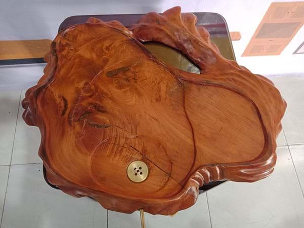 Khay trà gỗ xưa cũ SP002886