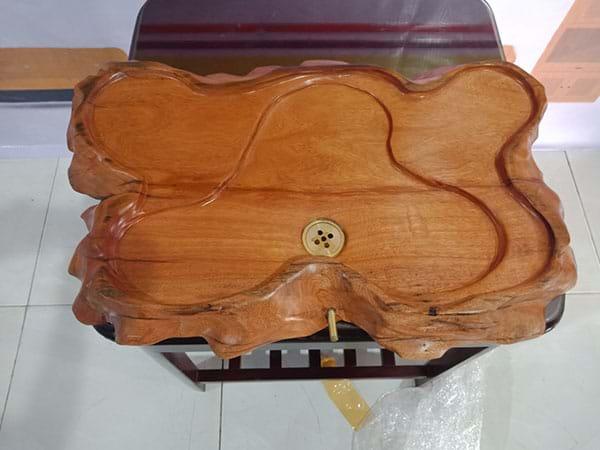 Khay trà gỗ xưa cũ  SP002887