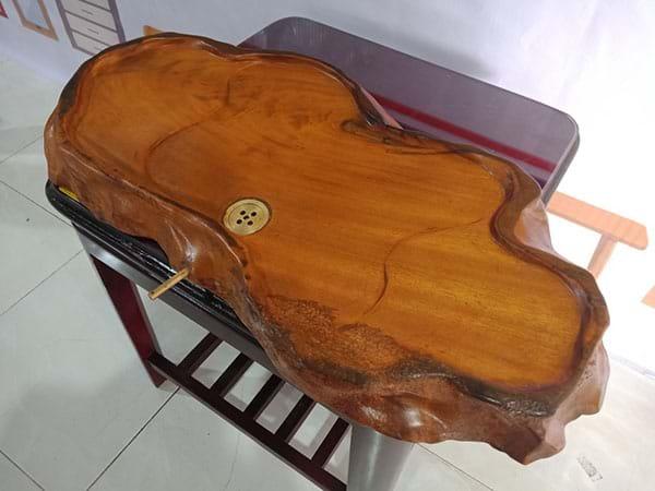 Khay trà gỗ xưa cũ SP002888