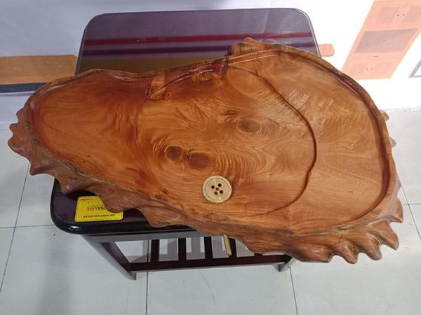 Khay trà gỗ xưa cũ SP002890
