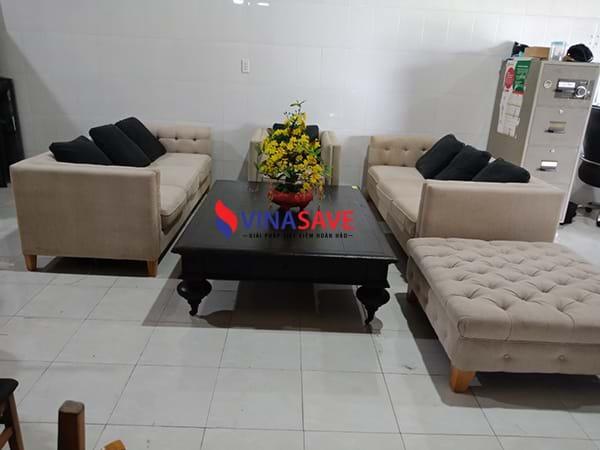 Xả kho giá tốt Bộ Sofa phòng khách đã qua sử dụng còn rất mới - 2086