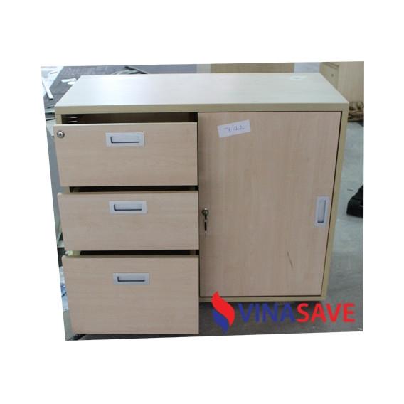 Tủ hồ sơ thấp cũ VN377