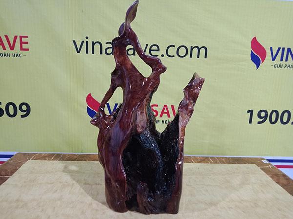 Bình Phay gỗ Cẩm Chỉ Gia Lai 65x28x40 cm