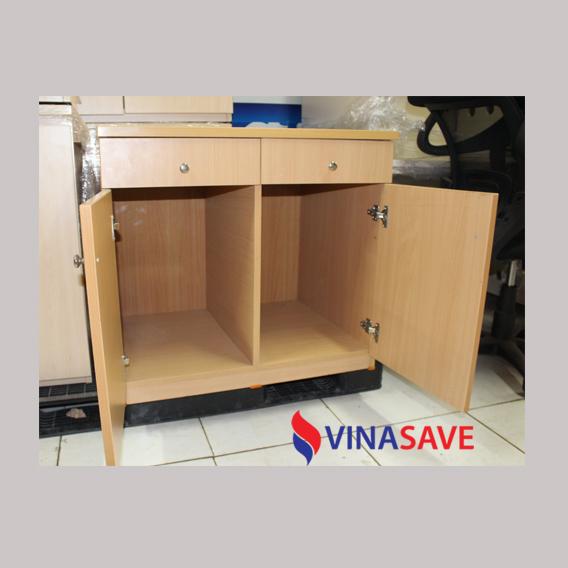 Tủ hồ sơ thấp 2 cánh cũ VN412