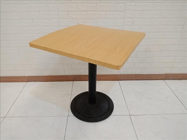 Bàn cafe gỗ cao su cũ SP010430
