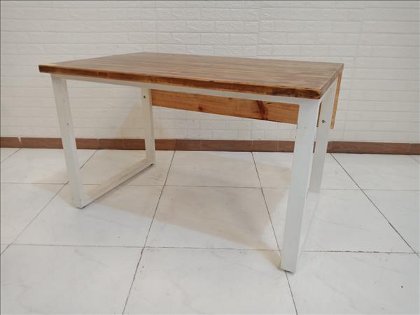 Bàn làm việc gỗ thông cũ SP010239