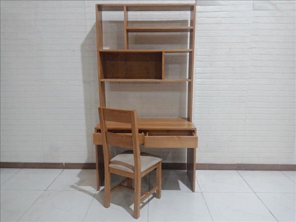 Bộ bàn học sinh gỗ Sồi Nga cũ SP010247