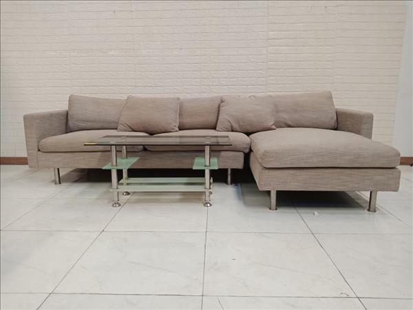 Bộ sofa góc chữ L cũ SP010483