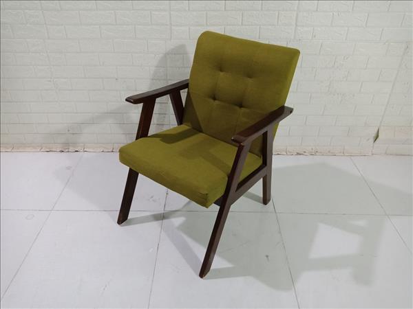 Ghế cafe gỗ cao su cũ SP010446