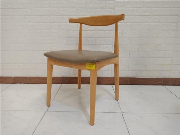 Ghế cafe gỗ cao su cũ SP010429.1