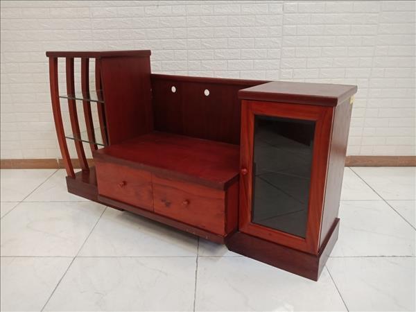 Kệ tivi gỗ Xoan đào cũ SP010219