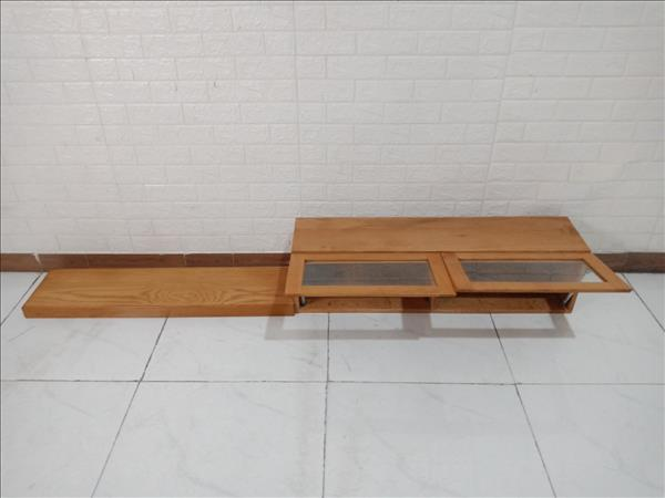 Kệ treo gỗ Sồi Nga cũ SP010251