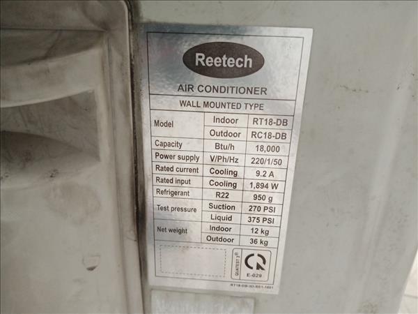 Máy lạnh Reetech RT18-DB cũ SP010297