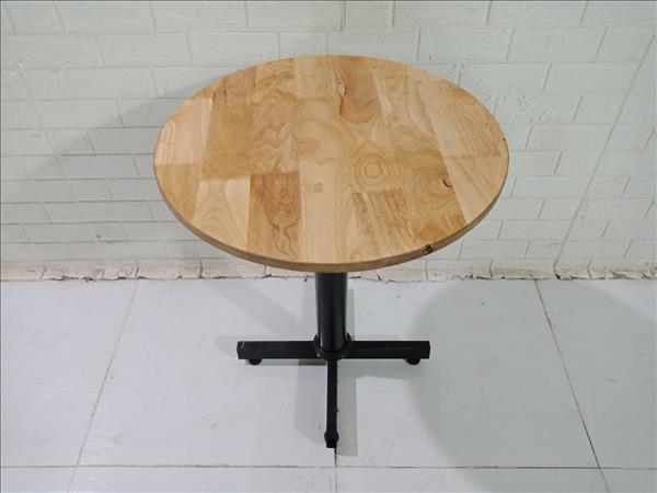 Bàn cafe gỗ cao su cũ SP010407